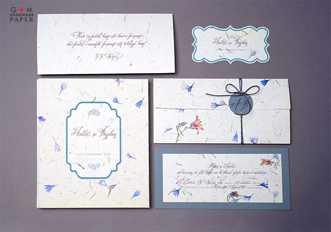 set complet de invitatii de nunta