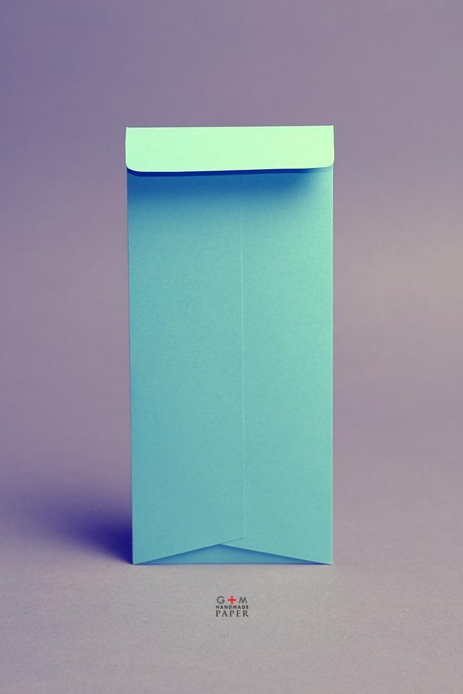 Plic albastru personalizat