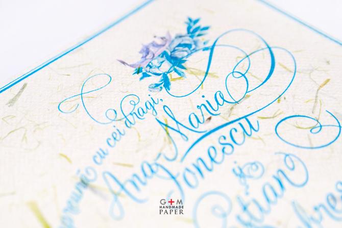 Caligrafie pentru invitatii de nunta