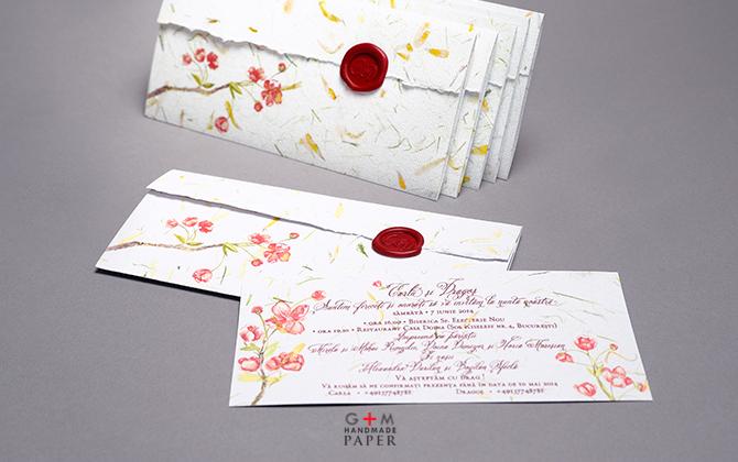 Invitatii De Nunta Gm Handmade Paper Gm Handmade Paper
