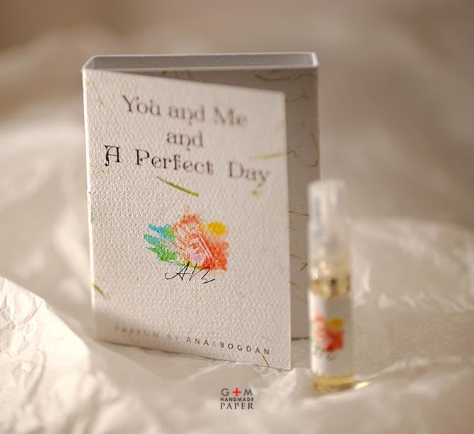 Place card in forma de cutie de parfum