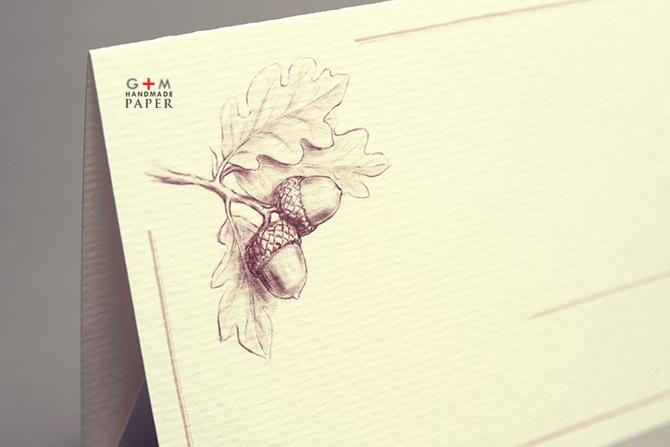 Desen cu ghinde