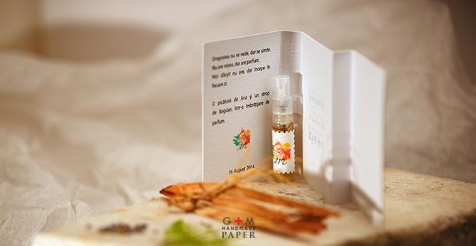 Marturii de nunta; parfum de autor