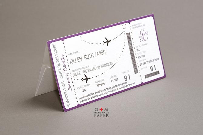 Envelopes Boarding Passes