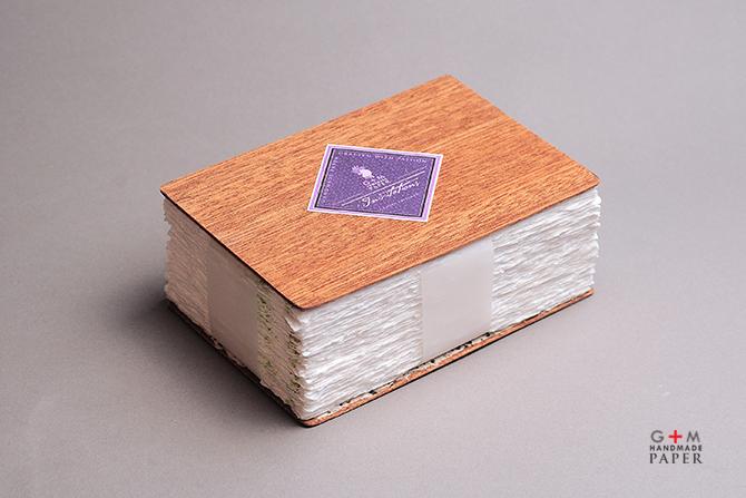 Handmade paper package