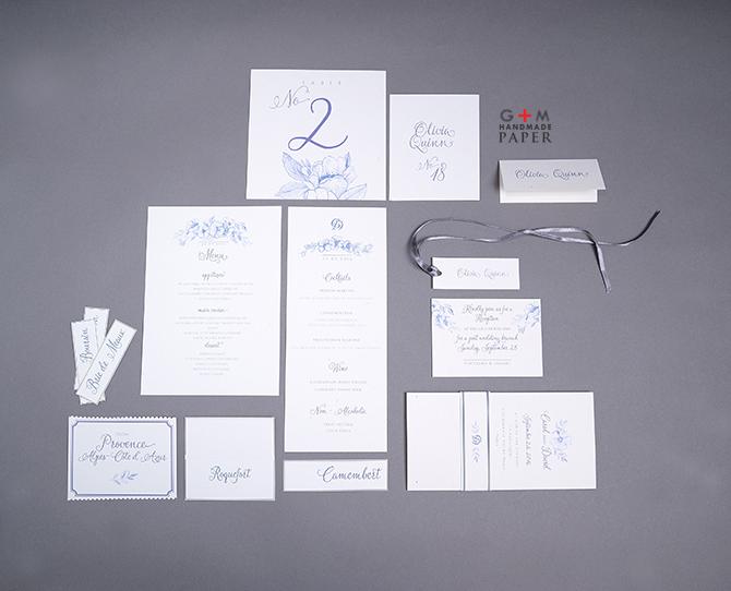 Pachet intreg de nunta - decor de hartie
