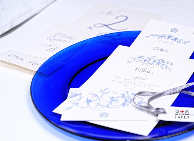 Nunta culoare albastru