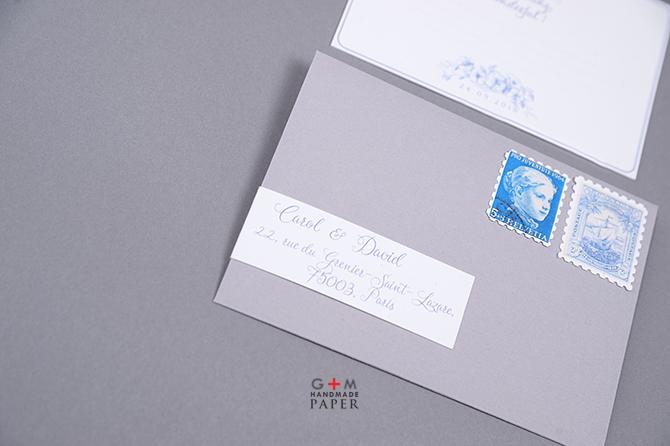 Plic personalizat cu adresa destinatarului