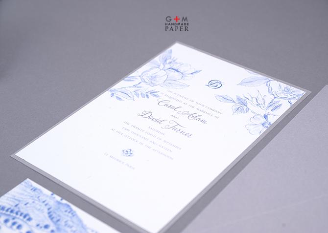 Blue wild rose drawing