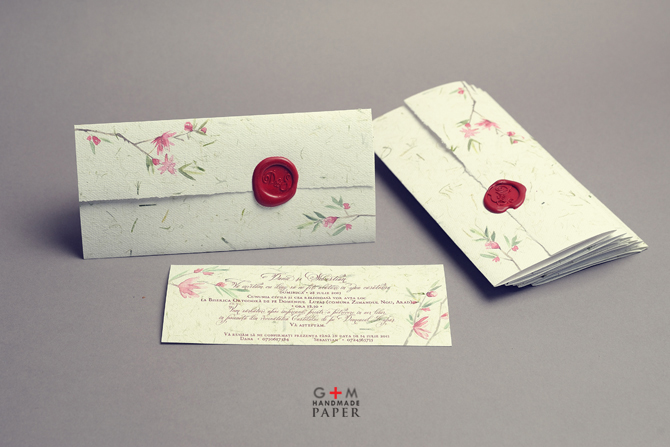 Wedding Handmade Invitations with amazing invitations ideas